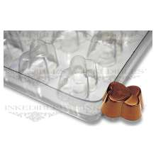 Non-Stick Transparent Chocolate Mold (Interlinked Hearts for PP-1019)