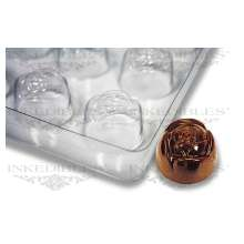 Non-Stick Transparent Chocolate Mold (Rose shape for PP-1016)