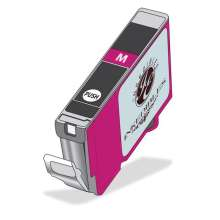 InkEdibles Edible Ink Cartridge for Canon CLI-251 (Deep Magenta)