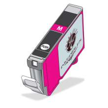 Inkedibles Edible Ink Refillable Cartridge for Canon CLI-271XL (Magenta)
