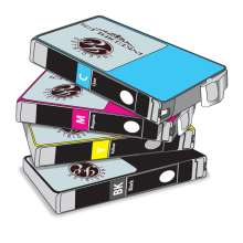Inkedibles Edible Ink Cartridge Multipack for Canon CLI-8 Series (4 pack)