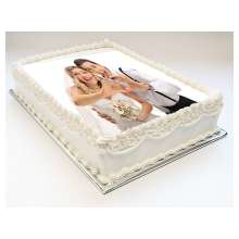 Custom Printed Cake Toppers - 8.5 x 11 inch rectangle