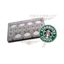 Inkedibles Large Size (11 inch x 7 inch) Magnetic Chocolate Mold (design 530-014, for use with transfer sheets)