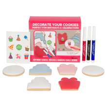 Yummy Art 6-pack Birthday Party Cookies Decorating Activity Kit