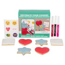 Yummy Art 6-pack Thank You & Special Occassions Cookies Decorating Activity Kit